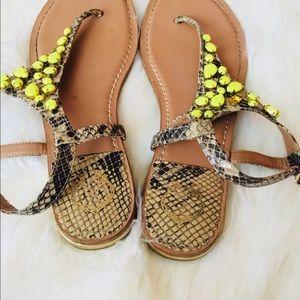 8bb537d1a2c Nordstrom Shoes - ❗️Nordstrom C Wonder Leather Jewel Sandal MSRP  98